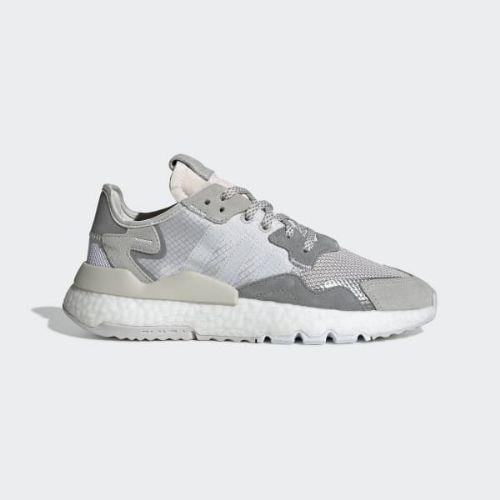(取寄)アディダス オリジナルス レディース ナイト ジョガー シューズ adidas originals Women Nite Jogger Shoes Grey One / Crystal White / Grey Two