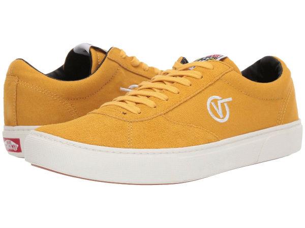 (取寄)Vans(バンズ) スニーカー パラドックス メンズ Vans Men's Paradoxxx Yolk Yellow