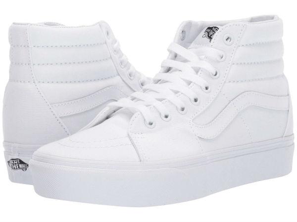 (取寄)Vans(バンズ) スニーカー スケート ハイ プラットフォーム 2.0 ユニセックス メンズ レディース Vans Unisex SK8 Hi Platform 2.0 True White/True White