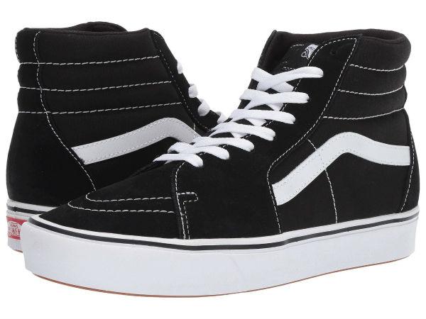 (取寄)Vans(バンズ) スニーカー コンフィクッシュ スケート ハイ ユニセックス メンズ レディース Vans Unisex ComfyCush SK8 Hi (Classic) Black/True White