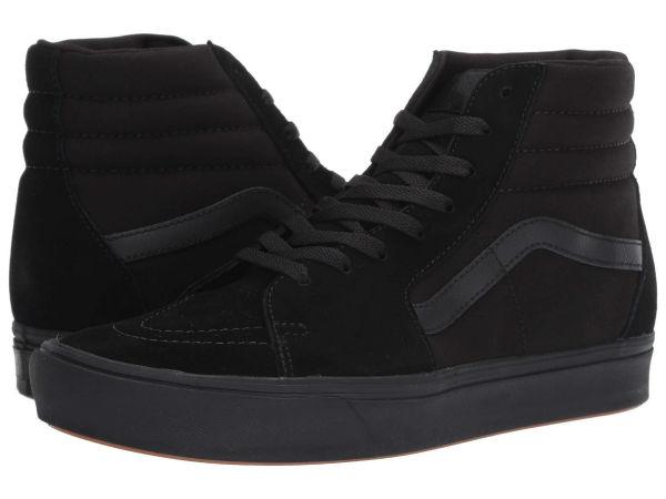 (取寄)Vans(バンズ) スニーカー コンフィクッシュ スケート ハイ ユニセックス メンズ レディース Vans Unisex ComfyCush SK8 Hi (Classic) Black/Black