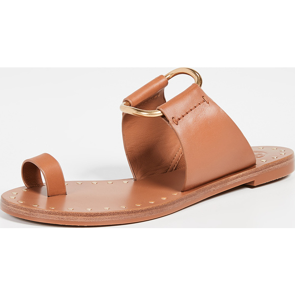 (取寄)トリーバーチ レディース ラヴェッロ スタデッド サンダル Tory Burch Women's Ravello Studded Sandals Tan