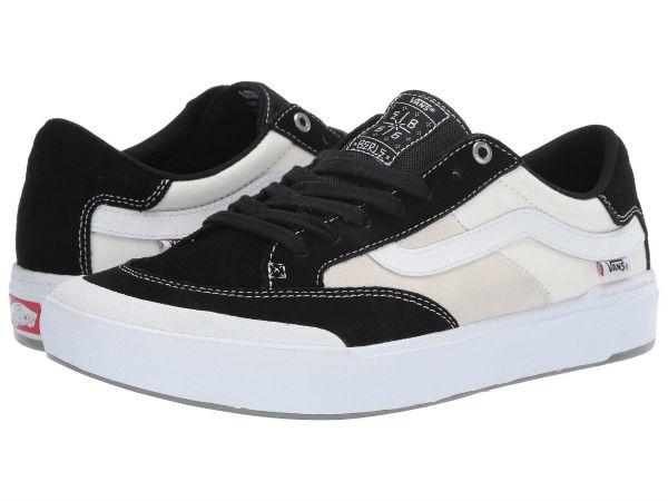 (取寄)Vans(バンズ) スニーカー ベル プロ メンズ Vans Men's Berle Pro Black/White