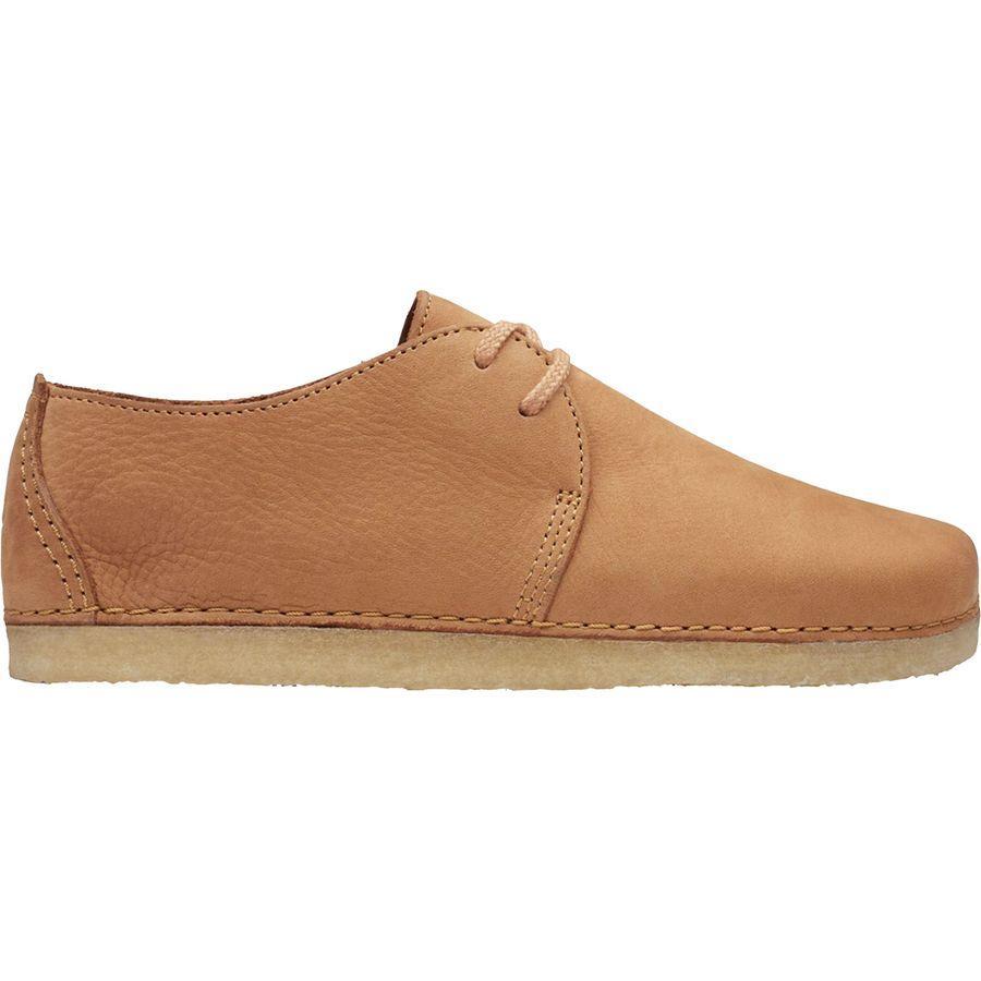 (取寄)クラークス レディース アシュトン シューズ Clarks Women Ashton Shoe Light Tan Nubuck