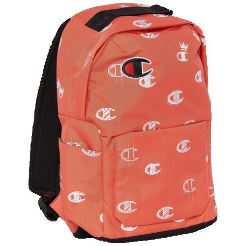 (取寄)チャンピオン アドボケイト ミニ バックパック Champion Advocate Mini Backpack Coral C's All Over Print Groovy Papaya White