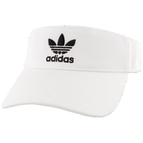(取寄)アディダス オリジナルス ツイル バイザー adidas Originals Twill Visor White Black