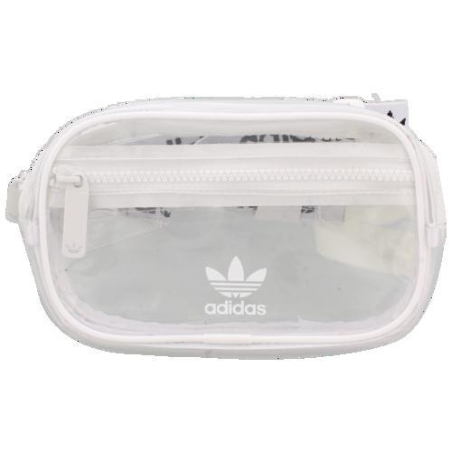 (取寄)アディダス オリジナルス クリア ウェストパック adidas Originals Clear Waistpack White