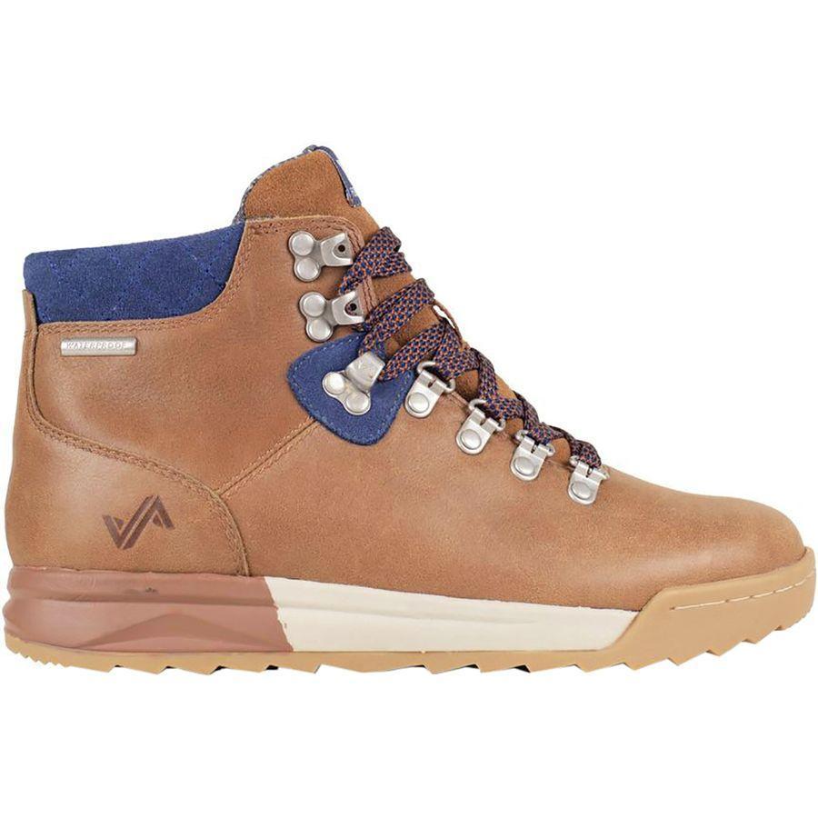 【マラソン ポイント10倍】(取寄)フォーセイク レディース パッチ ハイキング ブーツ Forsake Women Patch Hiking Boot Brown/Navy