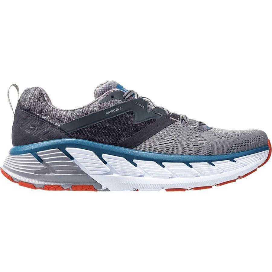 【マラソン ポイント10倍】(取寄)ホカ オネ オネ メンズ ガヴィオータ 2 ランニングシューズ HOKA ONE ONE Men's Gaviota 2 Running Shoe Frost Gray/Seaport
