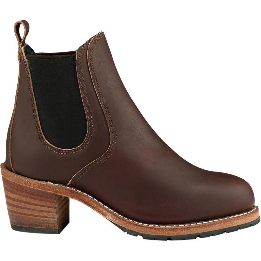 (取寄)レッドウィング レディース ヘリテイジ ハリエット ブーツ Red Wing Women Heritage Harriet Boot Mahogany Oro-iginal Leather