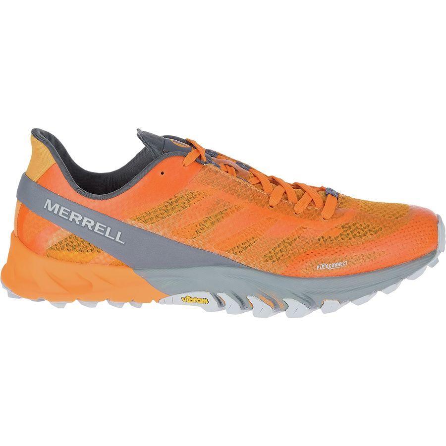 (取寄)メレル メンズ MTLシーラス トレイル ランニングシューズ Merrell Men's MTL Cirrus Trail Running Shoe Flame Orange/Turbulence