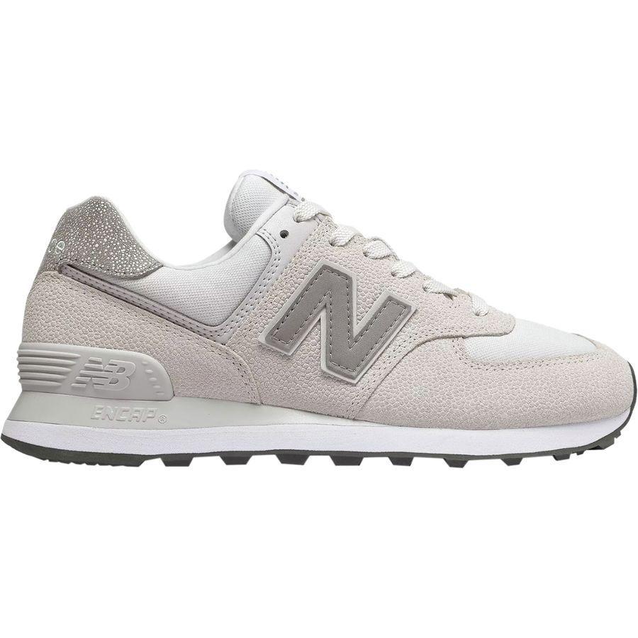 (取寄)ニューバランス レディース 574ペブルド ストリート シューズ New Balance Women 574 Pebbled Street Shoe Nimbus Cloud/White