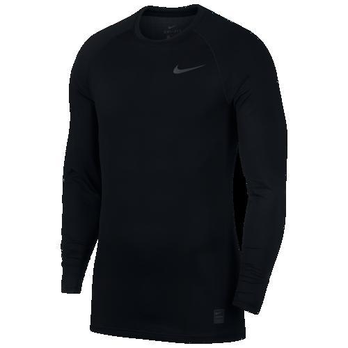 (取寄)ナイキ メンズ プロ ブリーズ コンプレッション ロング スリーブ トップ Nike Men's Pro Breathe Compression Long Sleeve Top Black Black