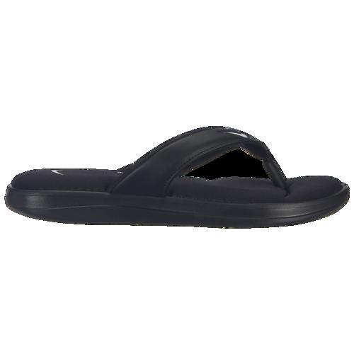 (取寄)ナイキ レディース ウルトラ コンフォート 3 トング Nike Women's Ultra Comfort 3 Thong Black White