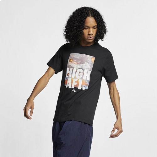 (取寄)ナイキ メンズ ハイ エアフォース1 Tシャツ Nike Men's High AF1 T-Shirt Black