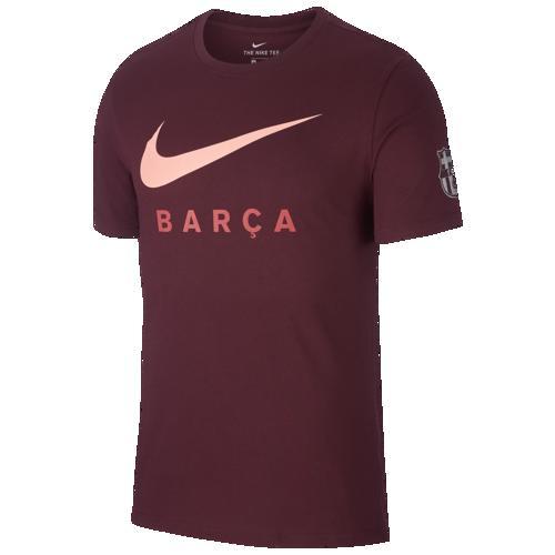 (取寄)ナイキ メンズ サッカー ラージ ロゴ Tシャツ Nike Men's Soccer Large Logo T-Shirt Deep Maroon