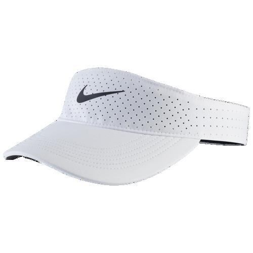 (取寄)ナイキ メンズ エアロビル バイザー Nike Men's Aerobill Visor White Black