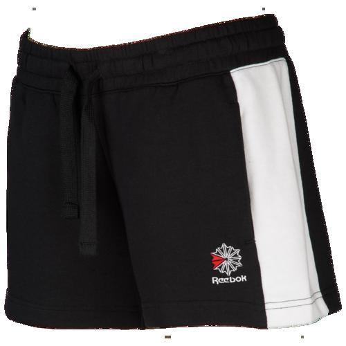 (取寄)リーボック レディース クラシック フィット ショーツ Reebok Women's Classic Fit Shorts Black White