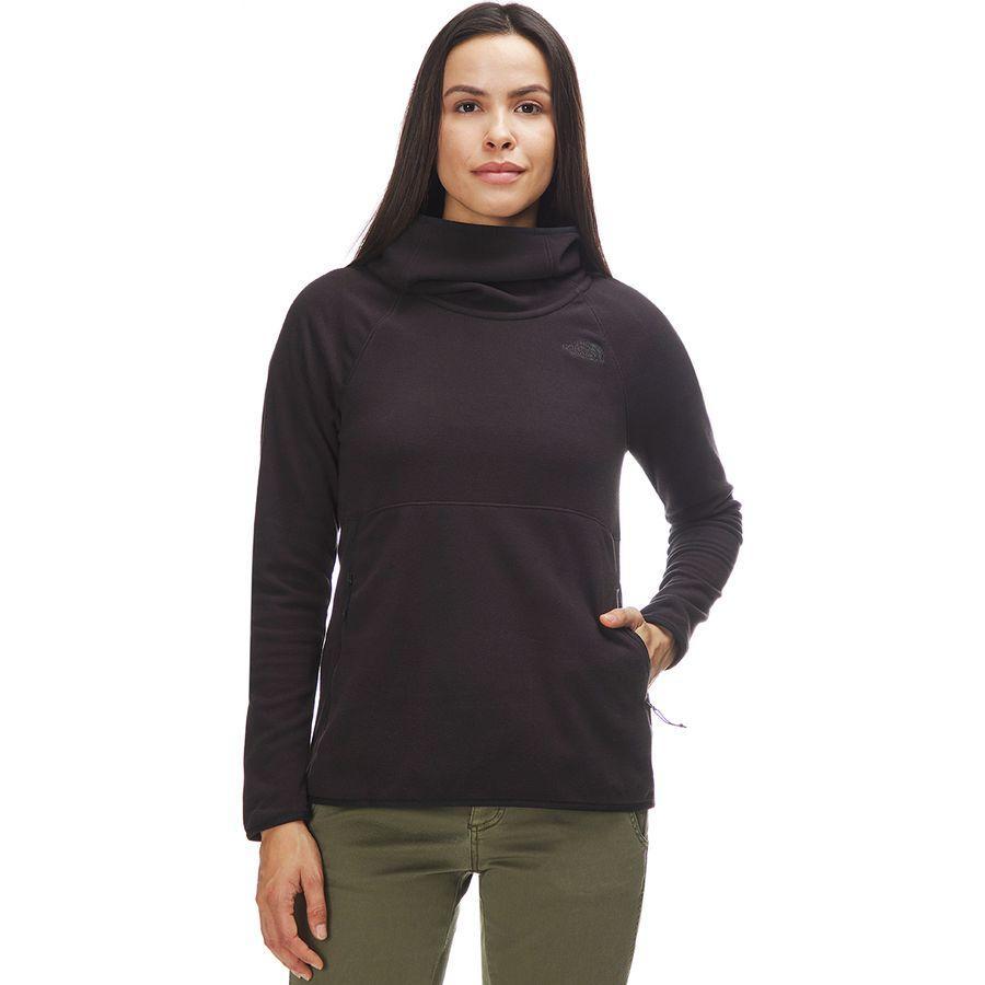 (取寄)ノースフェイス レディース グレイシャー アルパイン プルオーバー パーカー The North Face Women Glacier Alpine Hoodie Pullover Tnf Black