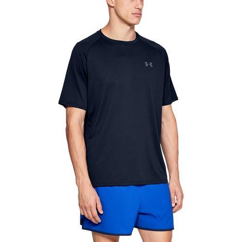(取寄)アンダーアーマー メンズ テック 2.0 ショート スリーブ Tシャツ Underarmour Men's Tech 2.0 Short Sleeve T-Shirt Academy Graphite