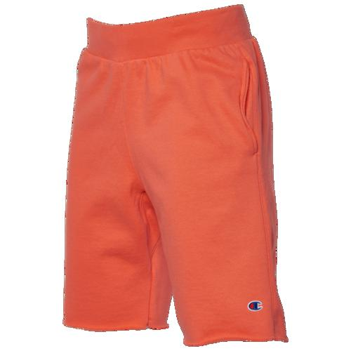 (取寄)チャンピオン メンズ リバース ウィーブ カット オフ ショーツ Champion Men's Reverse Weave Cut Off Shorts Papaya