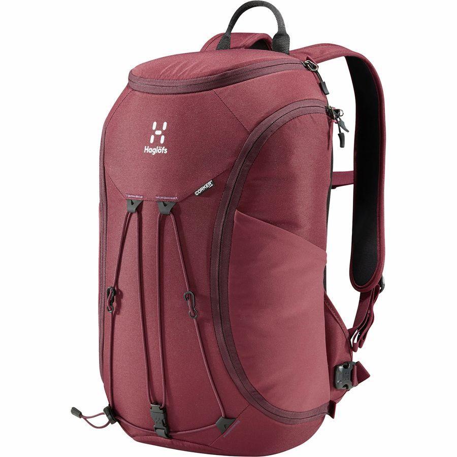 (取寄)ホグロフス ユニセックス コーカー ラージ 20L バックパック Haglofs Men's Corker Large 20L Backpack Aubergine