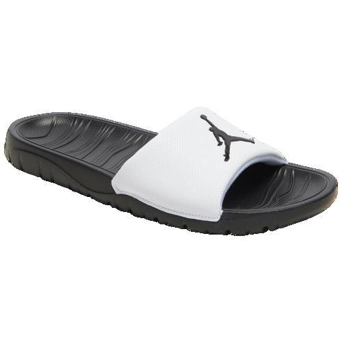 (取寄)ジョーダン メンズ ブレーク スライド Jordan Men's Break Slide White Black