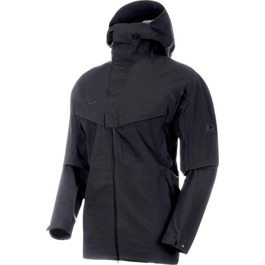 【クーポンで最大2000円OFF】(取寄)マムート メンズ ジナル HS フーデッド ジャケット Mammut Men's Zinal HS Hooded Jacket Black
