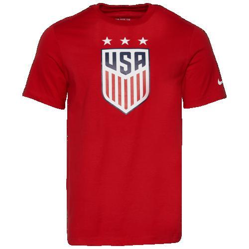 (取寄)ナイキ メンズ クレスト Tシャツ Nike Men's Crest T-Shirt University Red