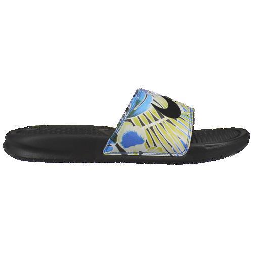 (取寄)ナイキ レディース ベナッシ JDI スライド Nike Women's Benassi JDI Slide Black White Game Royal