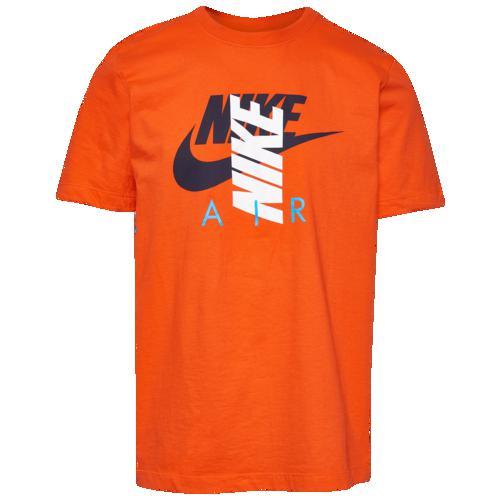 (取寄)ナイキ メンズ シティ ブライト エア Tシャツ Nike Men's City Brights Air T-Shirt Team Orange Navy White