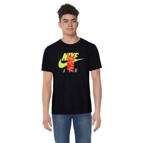 (取寄)ナイキ メンズ シティ ブライト エア Tシャツ Nike Men's City Brights Air T-Shirt Black Volt
