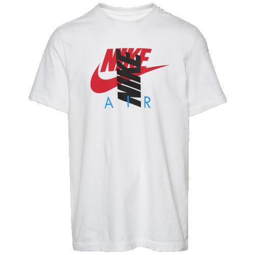 (取寄)ナイキ メンズ シティ ブライト エア Tシャツ Nike Men's City Brights Air T-Shirt White Black Red