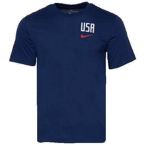(取寄)ナイキ メンズ プライド クレスト Tシャツ Nike Men's Pride Crest T-Shirt Blue Void