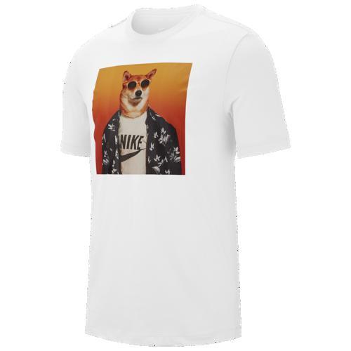 (取寄)ナイキ メンズ メンズウェア ドッグ Tシャツ Nike Men's Menswear Dog T-Shirt White