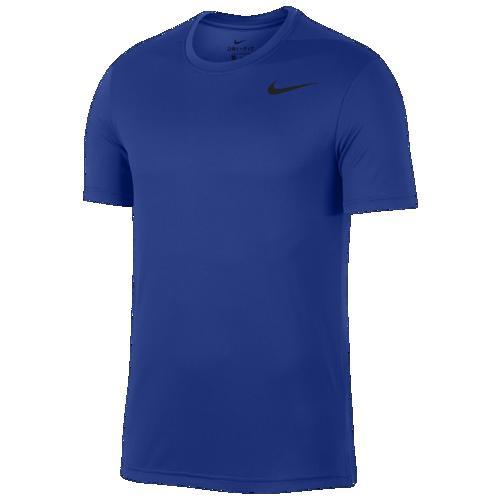 (取寄)ナイキ メンズ Tシャツ 半袖 スーパーセット ベンテッド フィッティド トップ Nike Men's Superset Vented Fitted Top Game Royal Black