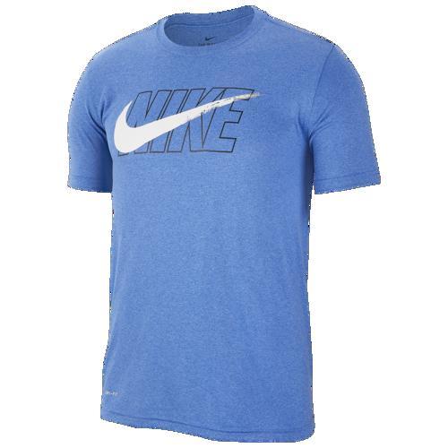 (取寄)ナイキ メンズ レジェンド スウッシュ Tシャツ Nike Men's Legend Swoosh T-Shirt Lite Game Royal White