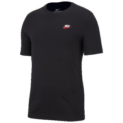 (取寄)ナイキ メンズ エンブロイダード フューチュラ Tシャツ Nike Men's Embroidered Futura T-Shirt Black White