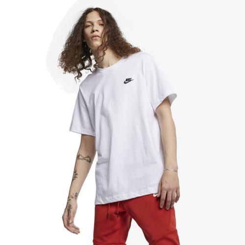(取寄)ナイキ メンズ エンブロイダード フューチュラ Tシャツ Nike Men's Embroidered Futura T-Shirt White Black