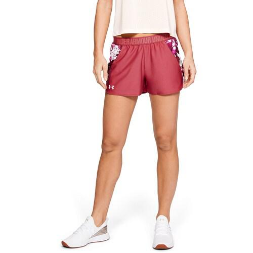 (取寄)アンダーアーマー レディース プレイ アップ ショーツ 2.0 Underarmour Women's Play Up Shorts 2.0 Impulse Pink