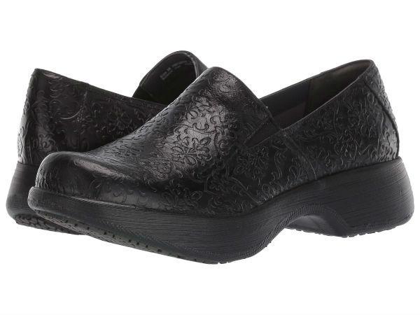 (取寄)ダンスコ レディース ウィノナ Dansko Women Winona Black Tooled Leather