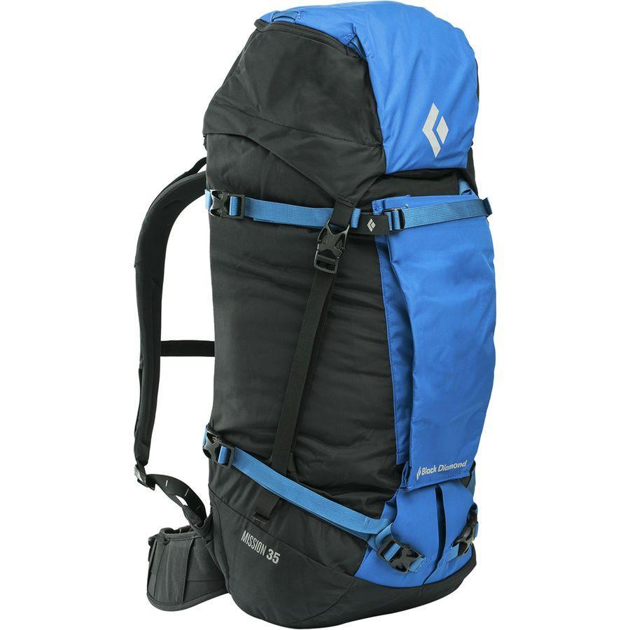 (取寄)ブラックダイヤモンド ユニセックス ミッション 35L バックパック Black Diamond Men's Mission 35L Backpack Cobalt/Black