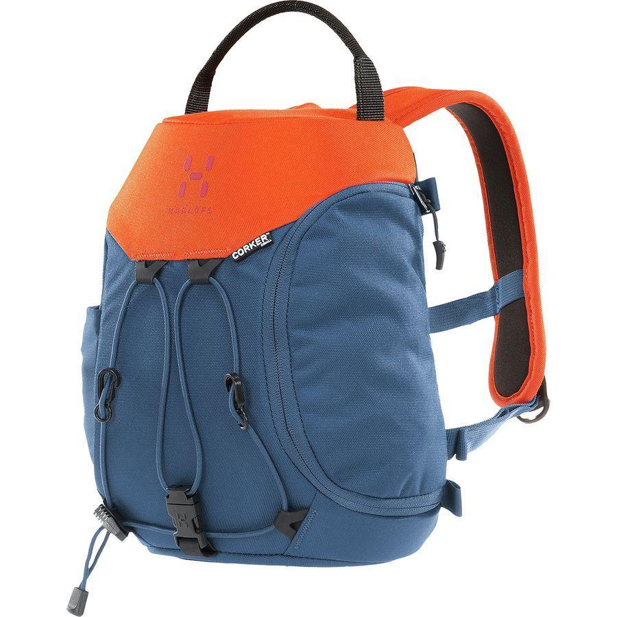 【エントリーでポイント10倍】(取寄)ホグロフス ユニセックス コーカー XS バックパック Haglofs Men's Corker XS Backpack Blue Ink/Sunset