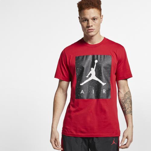 (取寄)ジョーダン メンズ プールサイド Tシャツ Jordan Men's Poolside T-Shirt Gym Red Iron Grey White