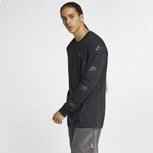 (取寄)ジョーダン メンズ レトロ 6 ロング スリーブ Tシャツ Jordan Men's Retro 6 Long Sleeve T-Shirt Black