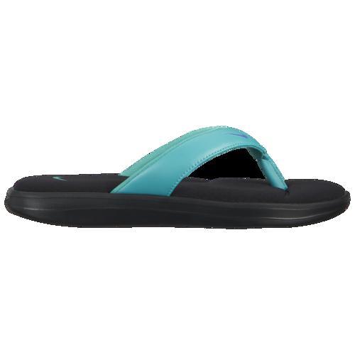 (取寄)ナイキ レディース ウルトラ コンフォート 3 トング Nike Women's Ultra Comfort 3 Thong Black Sapphire Hyper Jade