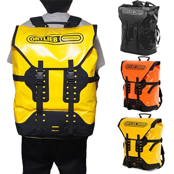 オルトリーブ トランスポーター 防水 バックパック 50L 大容量リュック Ortlieb Transporter 50L Backpack