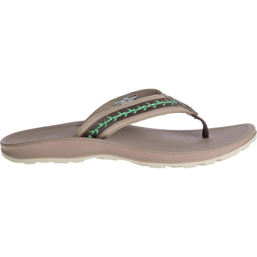 (取寄)チャコ レディース プラーヤ プロ フリップ フロップ Chaco Women Playa Pro Flip Flop Tan