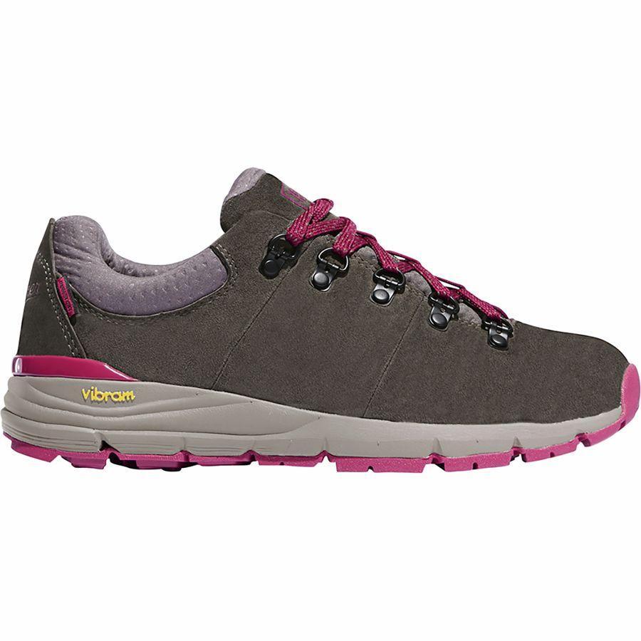 (取寄)ダナー レディース マウンテン 600ロウ ドライ ハイキングシューズ Danner Women Mountain 600 Low Dry Hiking Shoe Gray/Plum