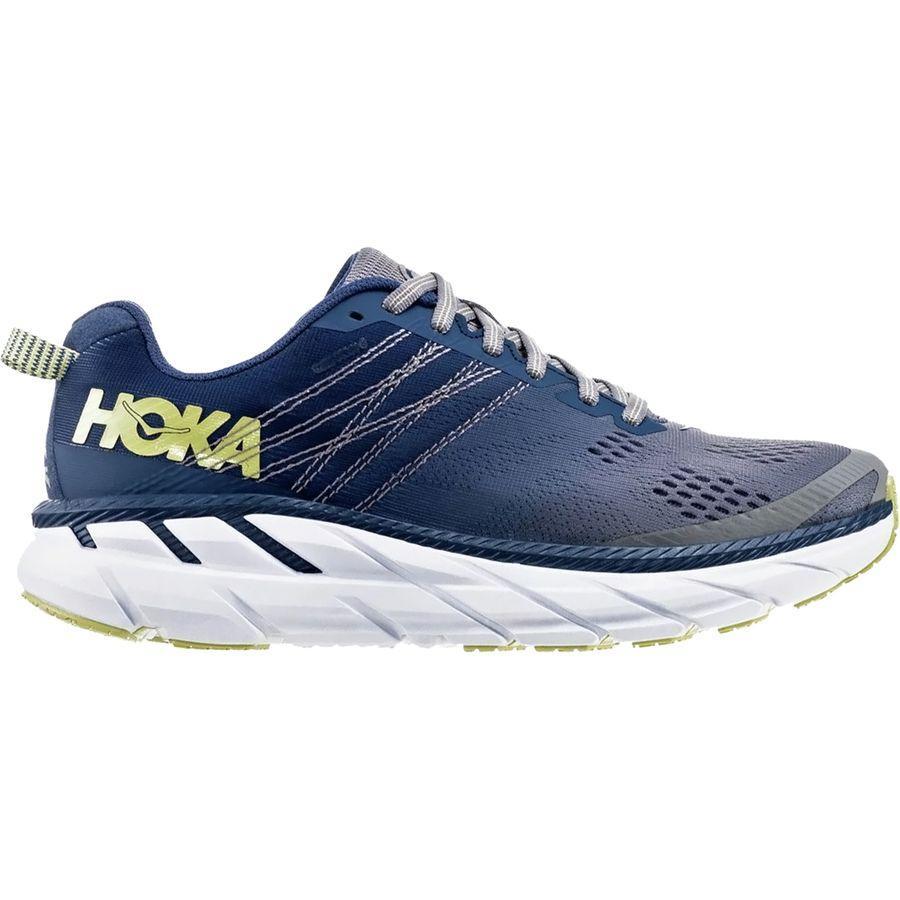 【クーポンで最大2000円OFF】(取寄)ホカ オネ オネ レディース クリフトン 6 ランニングシューズ HOKA ONE ONE Women Clifton 6 Running Shoe Ensign Blue/Wild Dove